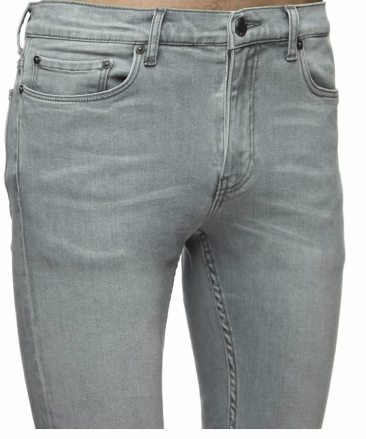 BLK DNM NYC BLK DNM HUNTS GREY STRETCH JEANS