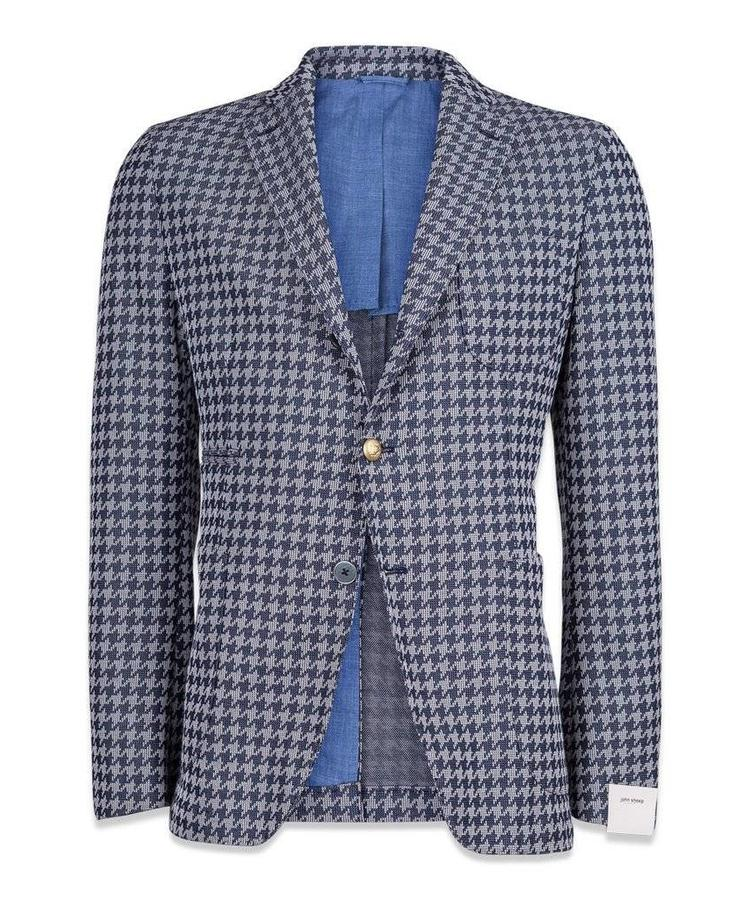 JOHN SHEEP JOHN SHEEP HOUNDTOOTH BLAZER