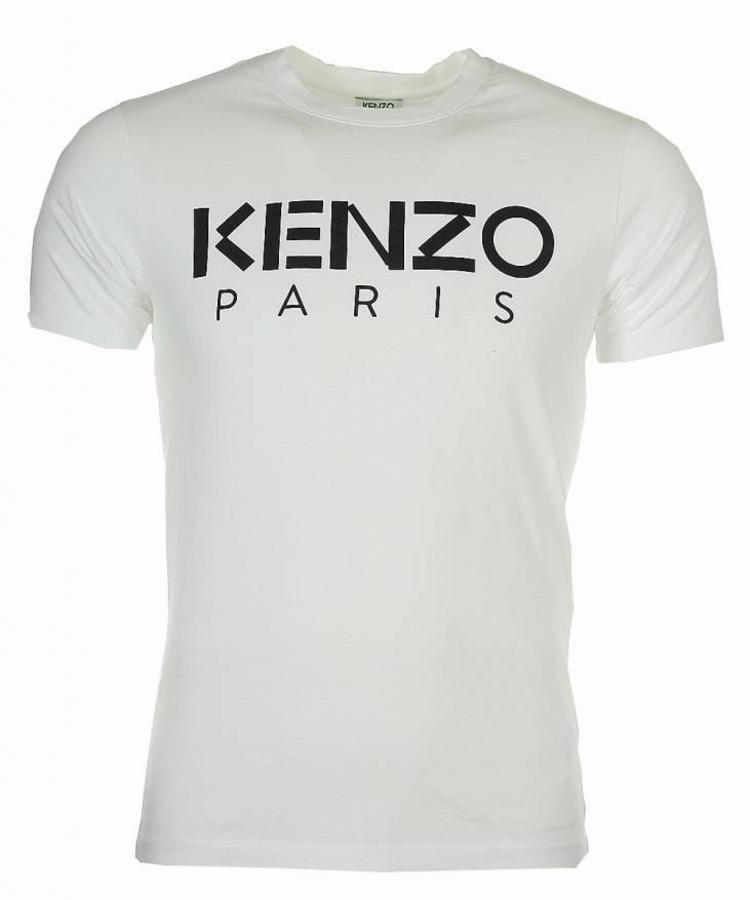 KENZO KENZO PARIS WHITE T-SHIRT
