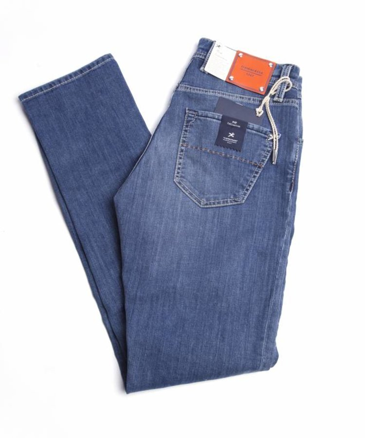 TRAMAROSSA TRAMAROSSA LIGHT BLUE STRETCH DENIM
