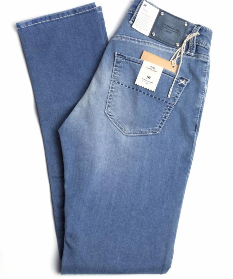 TRAMAROSSA TRAMAROSSA LIGHT BLUE WASHED DENIM