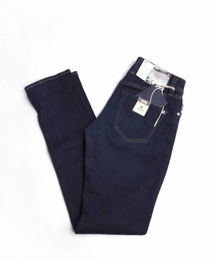 TRAMAROSSA TRAMAROSSA DARK BLUE HYPERFLEX DENIM -24.7