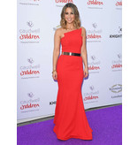 Sidney Leigh Nicole Bakti Strapless Gown
