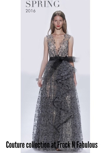Badgley Mischika Badgley Mischka White black daisy with sequin underskirt gown E380 to rent, White Black, 10 - 1094 E4200 to purchase/