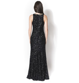 Rachel Gilbert Rachel Gilber Gidget Gown Black size 3 E200 to rent, Black, 3