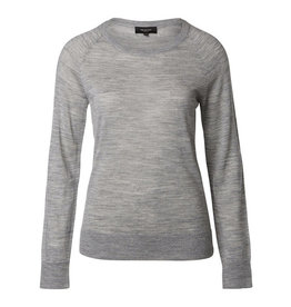 Selected Femme Light grey thin wool jumper