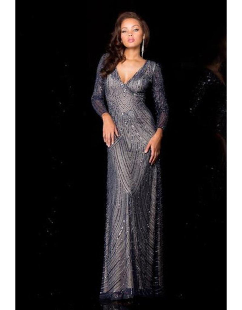 Jonny Drama Scala beaded Gown 48312