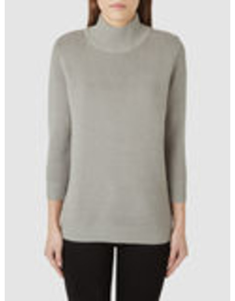 Selected Femme Selected Femme Grey high neck knit pullover