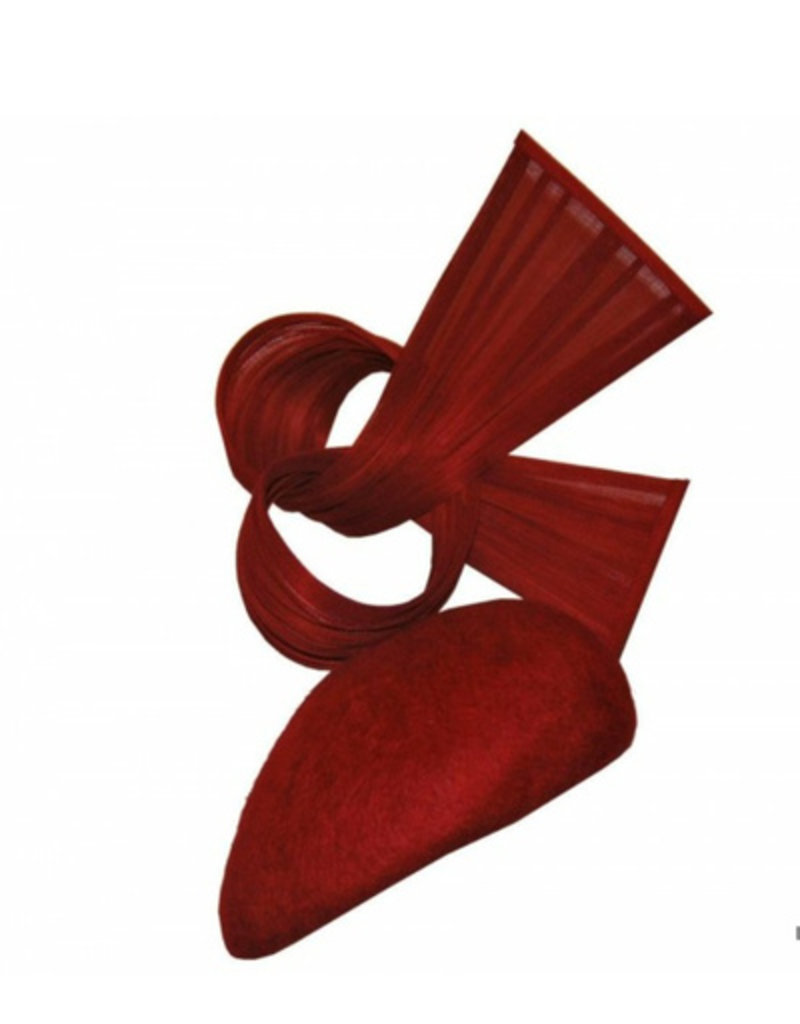 Aisling Ahern Aisling Ahern Millinery Red felt hat