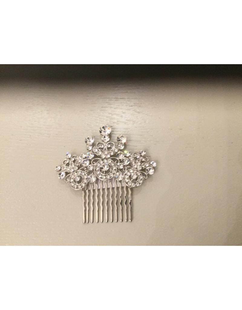 tiny Crystal Hair comb
