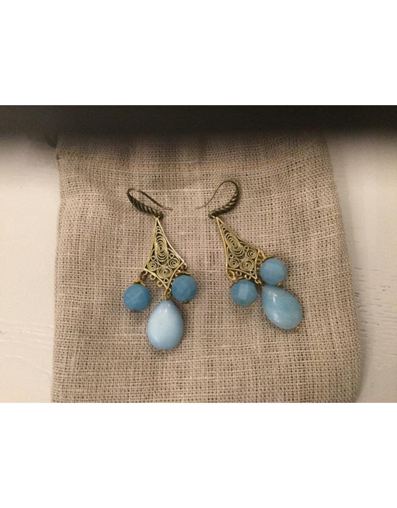 Aria V Jewellery Aria-V Minerva Earrings