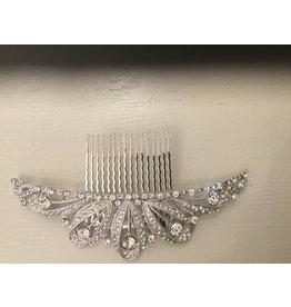 Gemini Crystal Hair slide