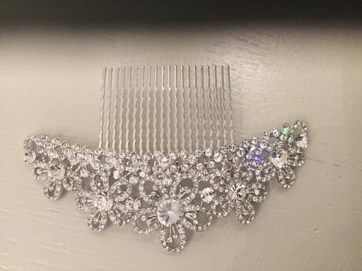 Gemini Crystal Hair Slide Lge