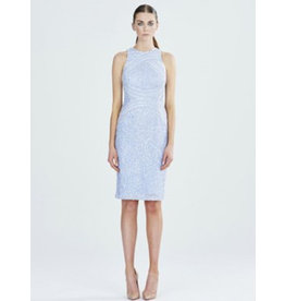 Rachel Gilbert Rachel Gilbert AubreeRachel Gilbert Ice Blue sequin short dress, ice Blue, 10