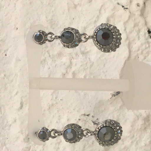 gemini drop earring