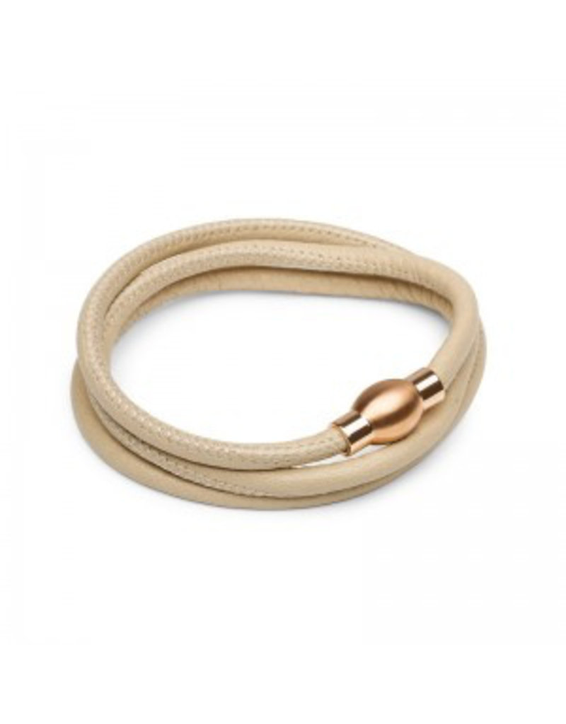 Lauryn Rose Leather wrap Bracelet