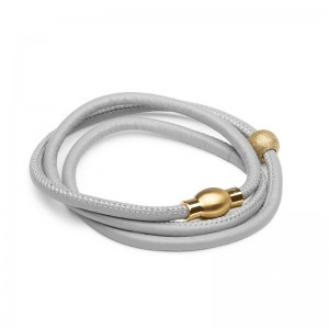 Lauryn Rose Leather wrap Bracelet