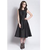 Rachel Gilbert Black Ballerina length 50s style dress with full skirt size 10, Black, 10 E160 rental price