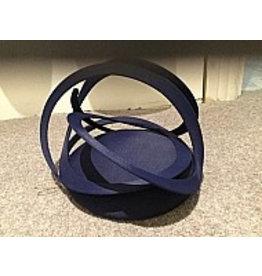 Edel Ramberg Navy Swirl Hat by Edel Ramberg