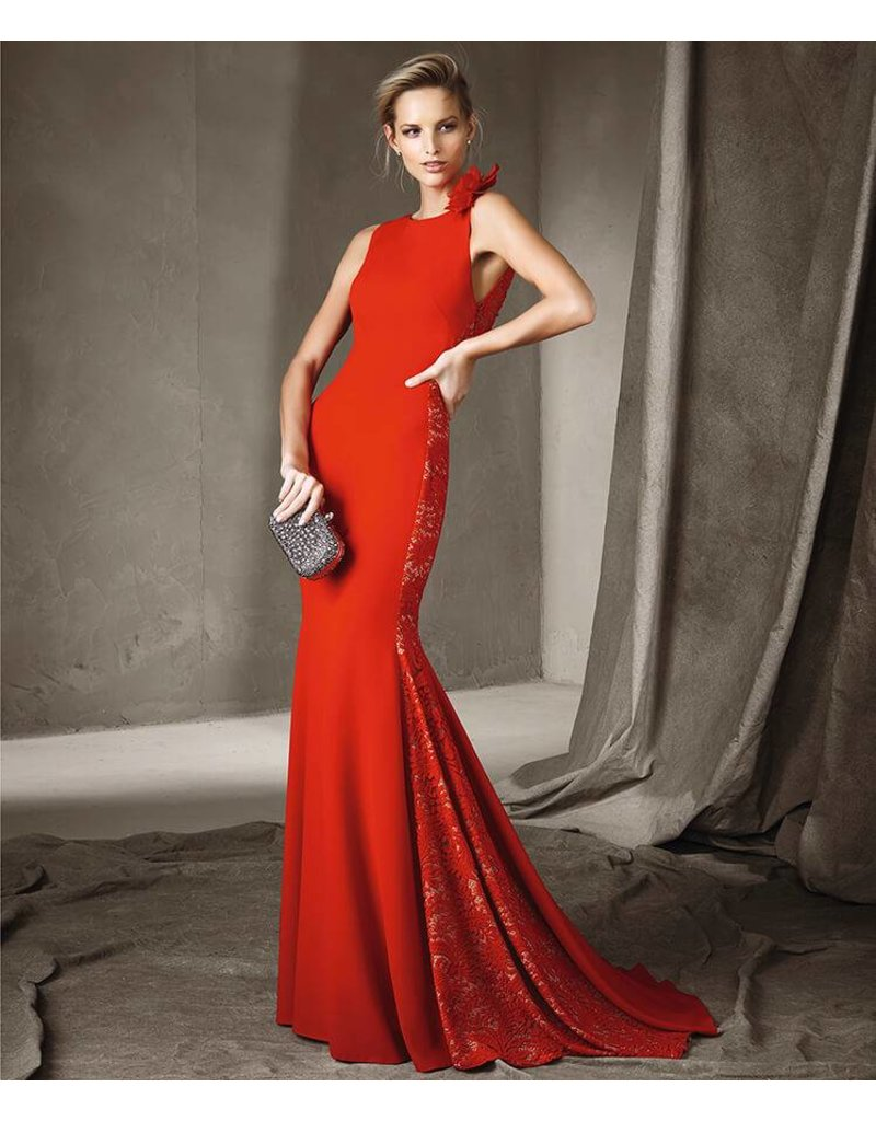 Pronovias Cerise Gown by Pronovias