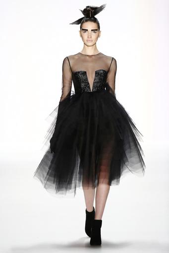 Irene Luft Tulle Short Dress