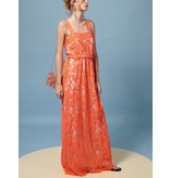 Intropia Intropia Lace Maxi Dress