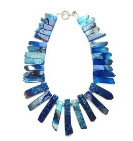 Aria V Jewellery Arthemis Aqua Neck Piece by Aria-V