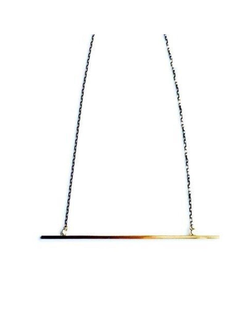 Aria V Jewellery Aria V Bar Necklace