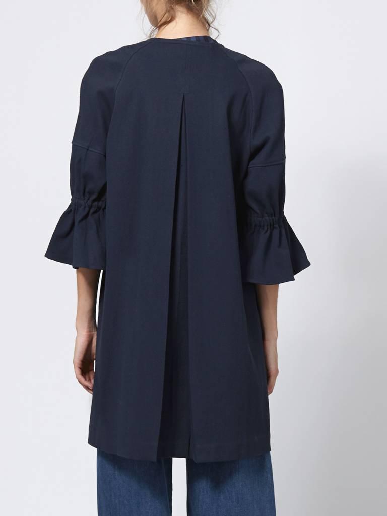 Intropia Intropia Pique Cotton Coat