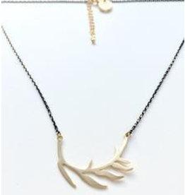 Aria V Jewellery Aria V Leaf Necklace