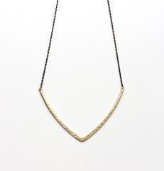 Aria V Jewellery Aria V Bar Necklace