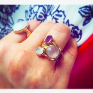 Emma By Jane Emma by Jane Clover Lilac Ring
