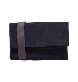 Selected Femme Camille Suede Clutch Bag