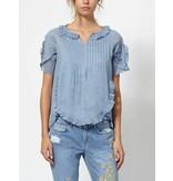 Intropia Intropia Flounces cotton blouse