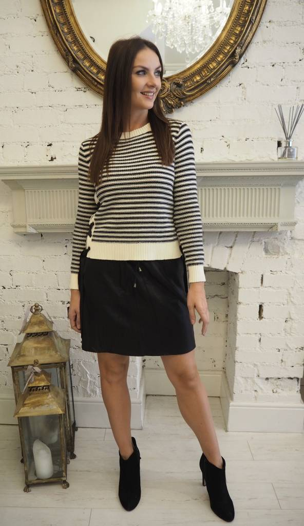 Selected Femme Flora Leather Skirt