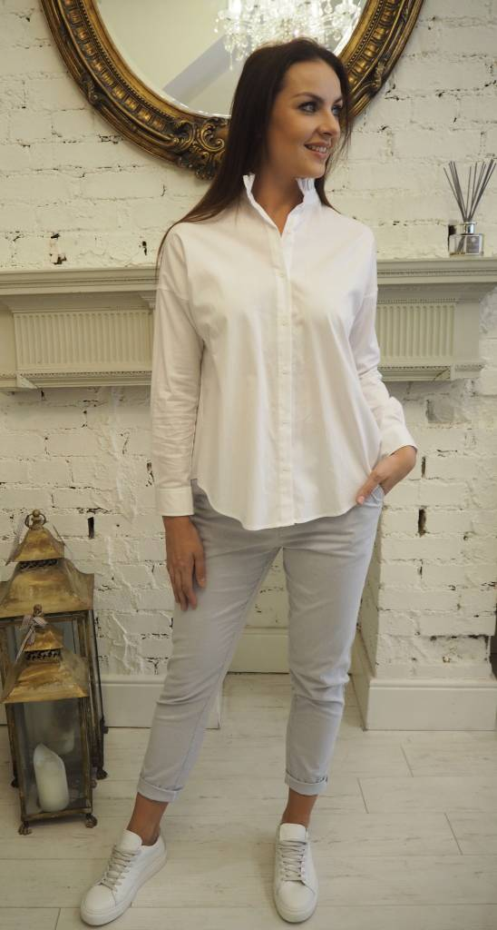Intropia Intropia Cotton Victorian Shirt