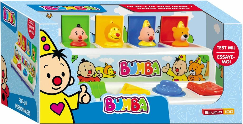 STUDIO100 Bumba Pop-Up Figures