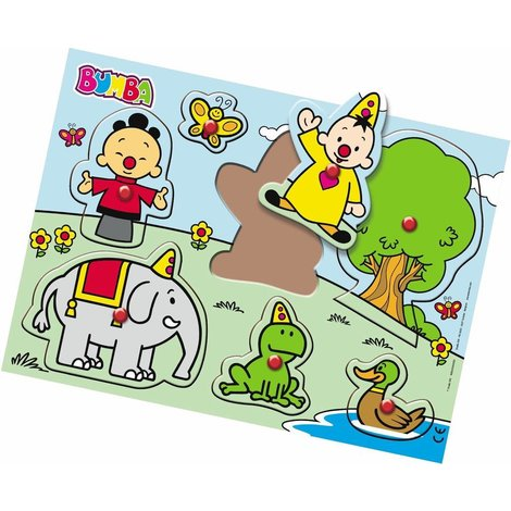 STUDIO 100 Bumba Wood Tray Puzzle Nature