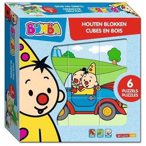 Bumba PUZZ- houten blokken