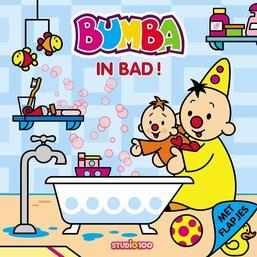 Bumba Boek met flapjes - In bad