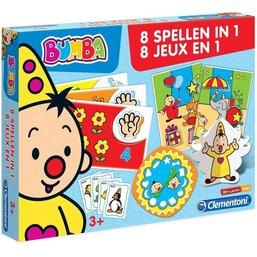 Bumba 8 jeux en 1 Clementoni