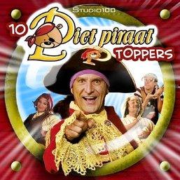 Piet Piraat CD - 10 Piet Piraat toppers