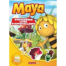 Maya de Bij Stickerboek A4