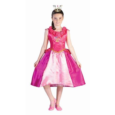 Déguisement fille Prinsessia. 6-9 ans