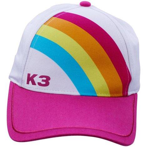 Cap K3 regenboog