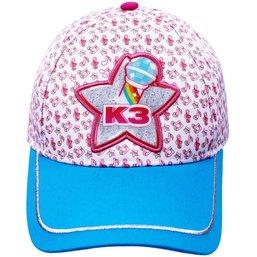 Cap K3 roze/blauw