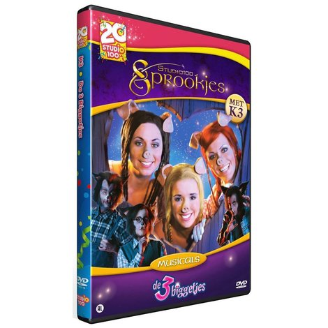Dvd K3: De 3 Biggetjes