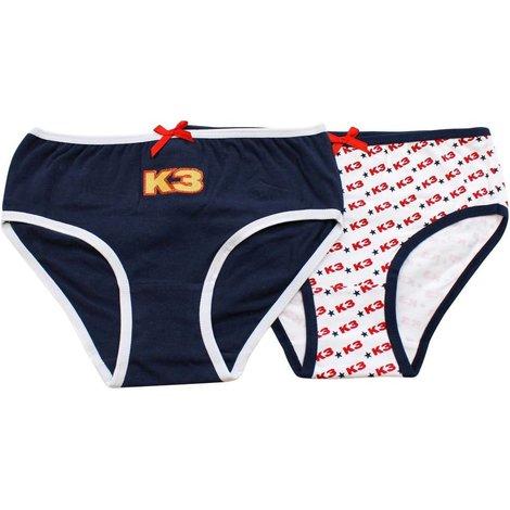 Onderbroek K3: 2-pack rood