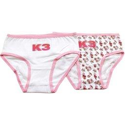 K3 Onderbroek 2-pack roze