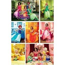 Poster Prinsessia 61x92 cm: collage